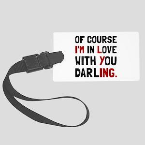 Love Darling Luggage Tag