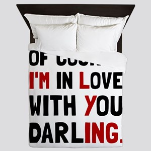Love Darling Queen Duvet