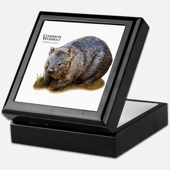 Common Wombat Keepsake Box