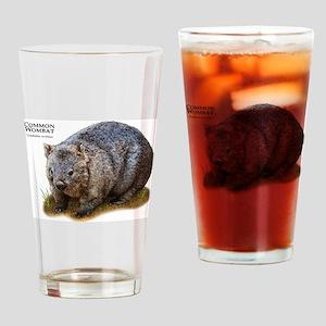 Common Wombat Drinking Glass
