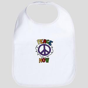 Peace Now Bib