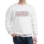 Sweatshirt: Vast Right Wing Conspiracy