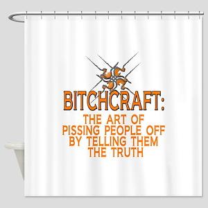 BITCHCRAFT Shower Curtain