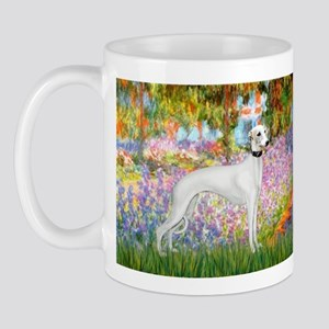 Whippet in Monet's Garden Mug
