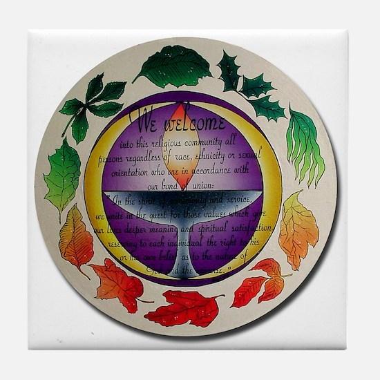 Tile Coaster - Bond of Union
