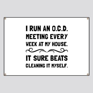 OCD Cleaning House Banner