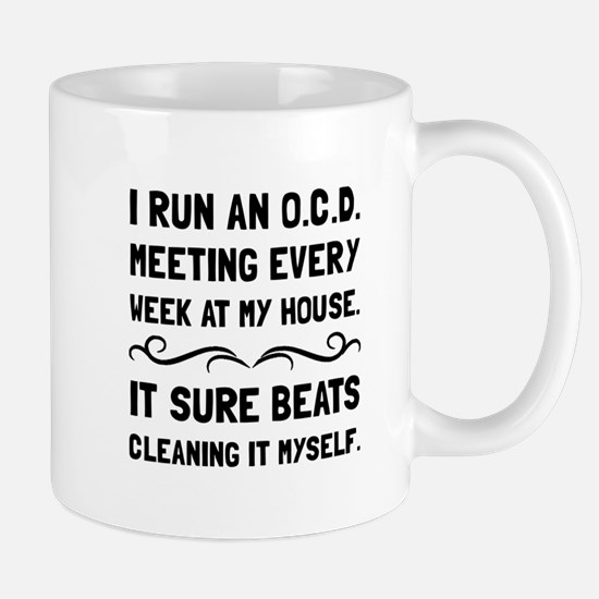 OCD Cleaning House Mugs