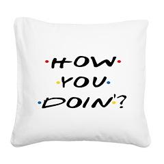 Square Canvas Pillows