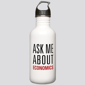 Economics - Ask Me Abo Stainless Water Bottle 1.0L