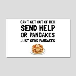 Send Pancakes Wall Decal
