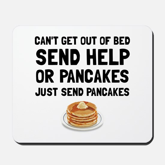 Send Pancakes Mousepad