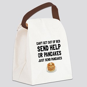 Send Pancakes Canvas Lunch Bag