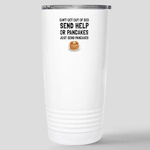 Send Pancakes Travel Mug