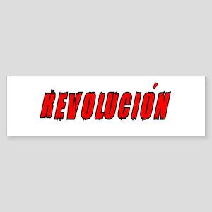 Revolucion Bumper Sticker