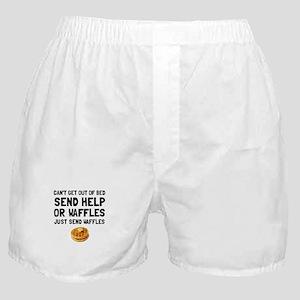 Send Waffles Boxer Shorts