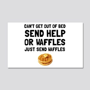 Send Waffles Wall Decal