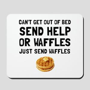 Send Waffles Mousepad