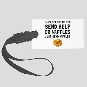 Send Waffles Luggage Tag