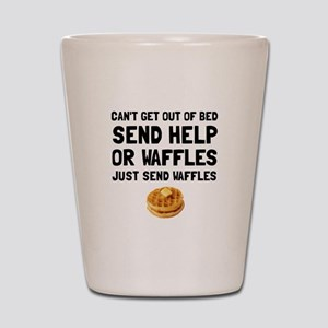 Send Waffles Shot Glass