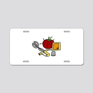 Sewing Supplies Aluminum License Plate