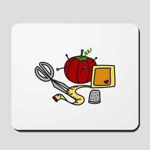 Sewing Supplies Mousepad