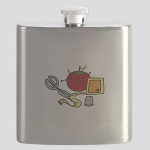 Sewing Supplies Flask