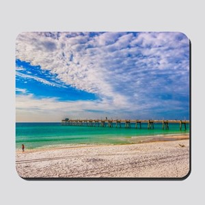 Island Beach Walk Mousepad