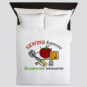 Sewing Forever Queen Duvet