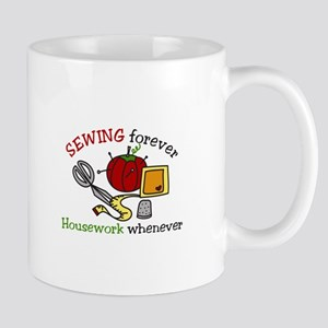 Sewing Forever Mugs