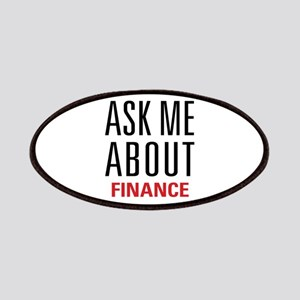 Finance - Ask Me About - Patches