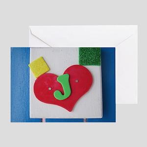 Jesse-J Greeting Card