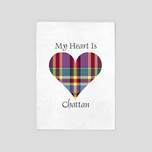Heart - Chattan 5'x7'Area Rug
