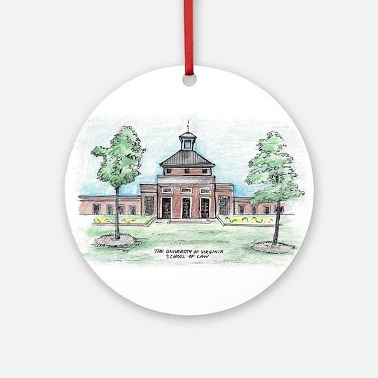 Round Uva Law Ornament (round)