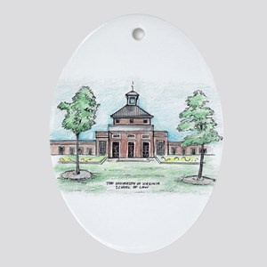 Uva Law Oval Ornament (oval)