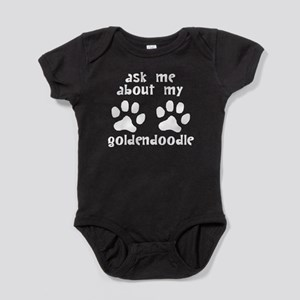 Ask Me About My Goldendoodle Baby Bodysuit