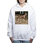 Flying Fawn Women's Hooded Sweatshirt