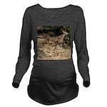 Flying Fawn Long Sleeve Maternity T-Shirt