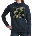 Shasta Daisies Women's Hooded Sweatshirt