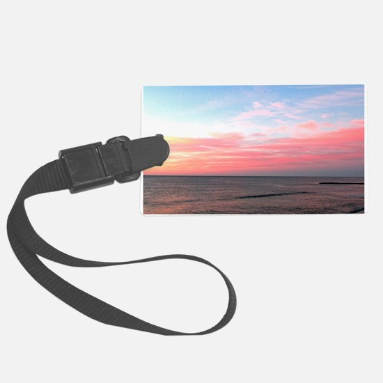 PINK SKIES Luggage Tag