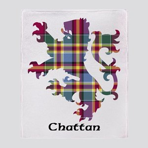 Lion - Chattan Throw Blanket