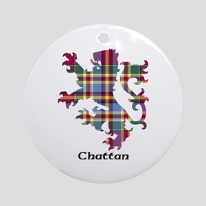 Lion - Chattan Ornament (Round)