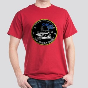 Ford Keel Laying Crest Dark T-Shirt
