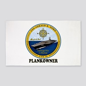 Ford Plank Owner Crest Area Rug