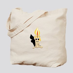 Drippy Candle Base Tote Bag