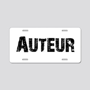 auteur1 Aluminum License Plate