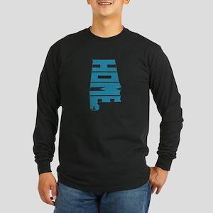 Alabama Home Long Sleeve Dark T-Shirt