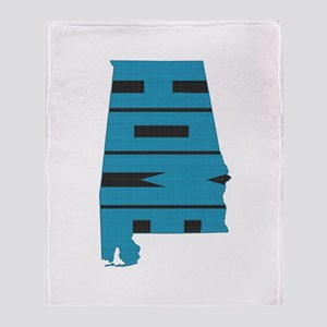 Alabama Home Throw Blanket