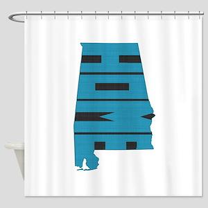 Alabama Home Shower Curtain