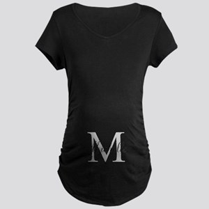 Personalized Monogram Name Maternity T-Shirt