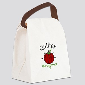 Quilter Canvas Lunch Bag